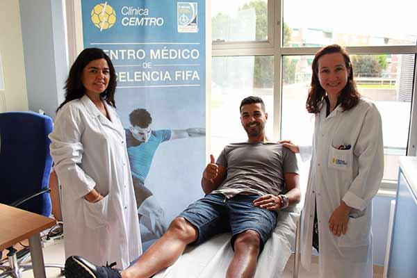Fichaje Getafe Reconocimiento Medico