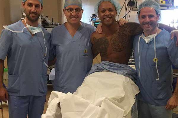 Ray Zapata Operado de Lesion