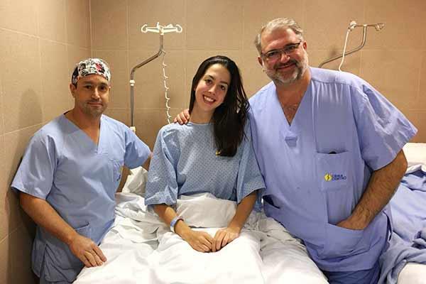 Alejandra Quereda operada de Labrum