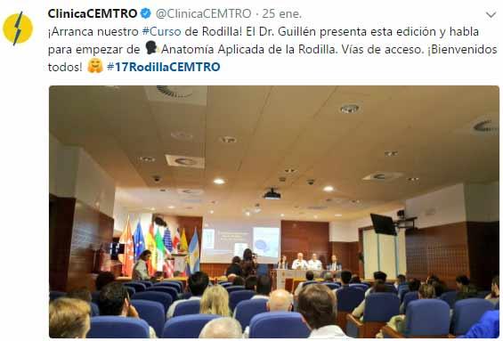 Curso de Rodilla Twitter