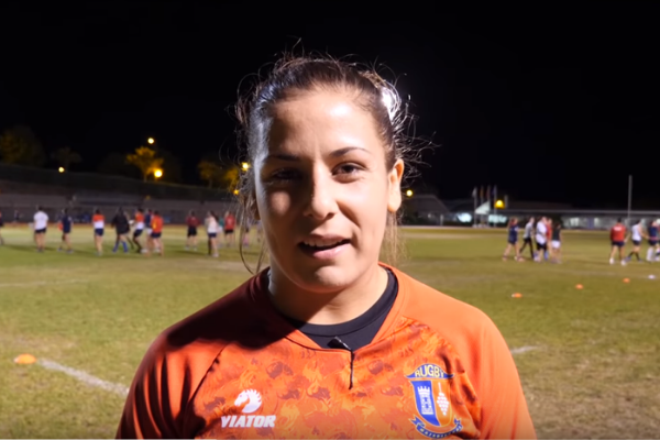 Ester Riesco Rugby Clinica CEMTRO