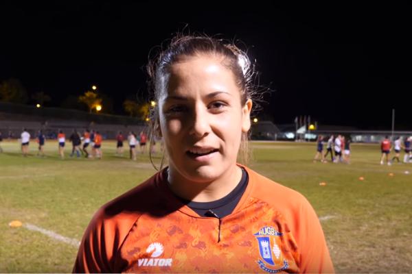 Ester Riesco Rugby Clinica CEMTRO