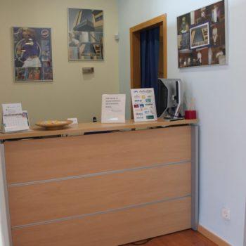 Fisioterapia CEMTRO Toledo Recepcion